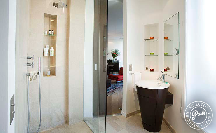 Bathroom at Four, apartment for rent in Paris, Saint Germain