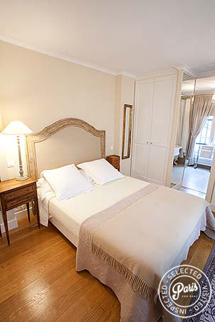 Second bedroom at Marais Elegance, apartment for rent in Paris, Marais