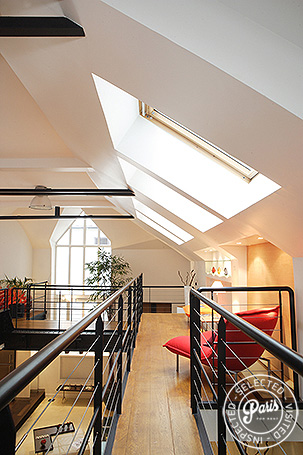 Top floor at Movie Loft, apartment for rent in Paris, Opera Vendome