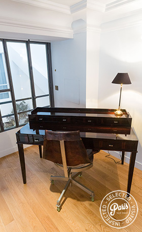 Office space at Latin Quarter Loft, Paris apartment rental, Latin Quarter