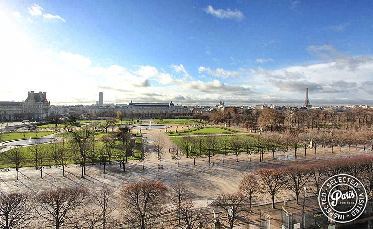 Amazing view from Tuileries Garden, apartment for rent in Paris, Opera-Vendome