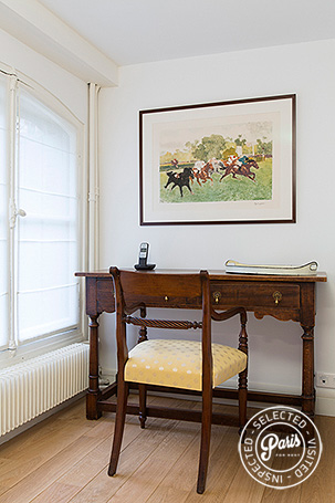 Office space with window view at St Germain Grenelle, Paris vacation rental, Saint Germain