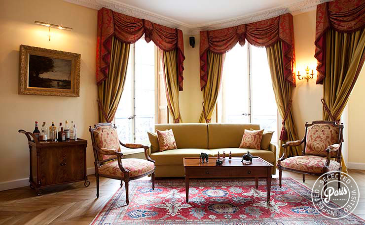 Paris Apartment Rentals - Pantheon | Luxury 2BD-2BA with ...