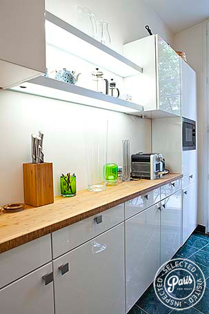 Kitchen at Pantheon, vacation rental in Paris, Latin Quarter