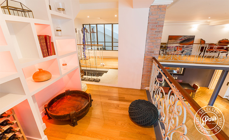 View from lounge area at Latin Quarter, Paris vacation rental, Latin Quarter
