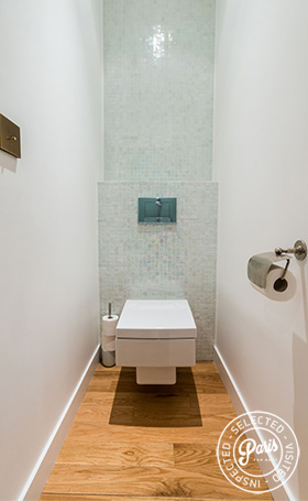 Separate toilet at Latin Quarter Loft, Paris apartment rental, Latin Quarter