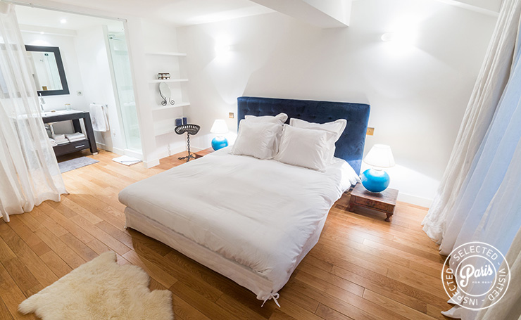 Second bedroom at Latin Quarter Loft, Paris apartment rental, Latin Quarter