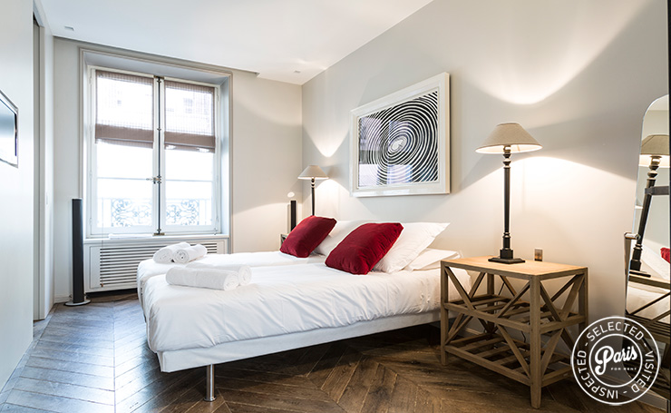 Third bedroom at Elysee Garden, apartment rental in Paris, Champs-Elysées