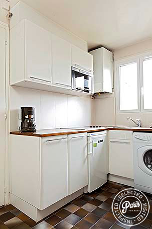 Kitchenette at Mouffetard 2, vacation rental in Paris, Latin Quarter