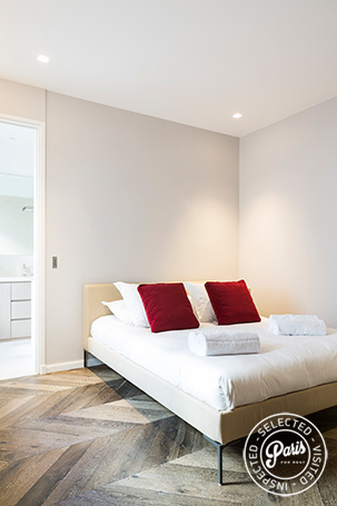 Second bedroom at Elysee Garden, apartment rental in Paris, Champs-Elysées
