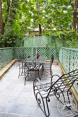 Terrace at Pantheon, apartment for rent in Paris, Latin Quarter