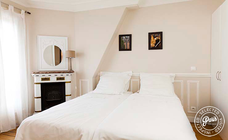 Second bedroom at Mouffetard 2, apartment for rent in Paris, Latin Quarter