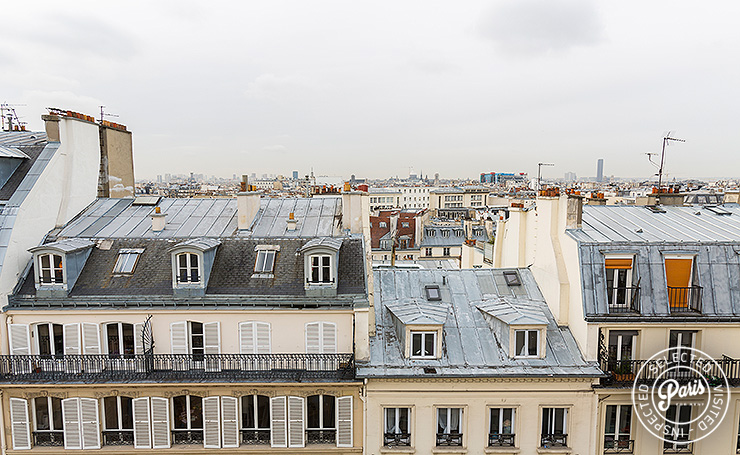 View from Marais Skyline, apartment for rent in Paris, Marais,