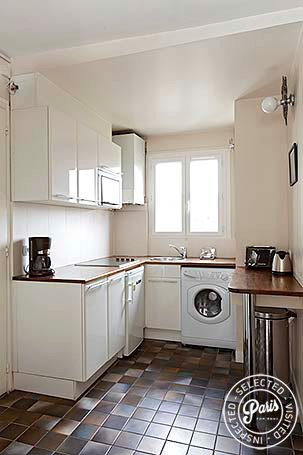 Kitchen at Mouffetard 2, apartment for rent in Paris, Latin Quarter