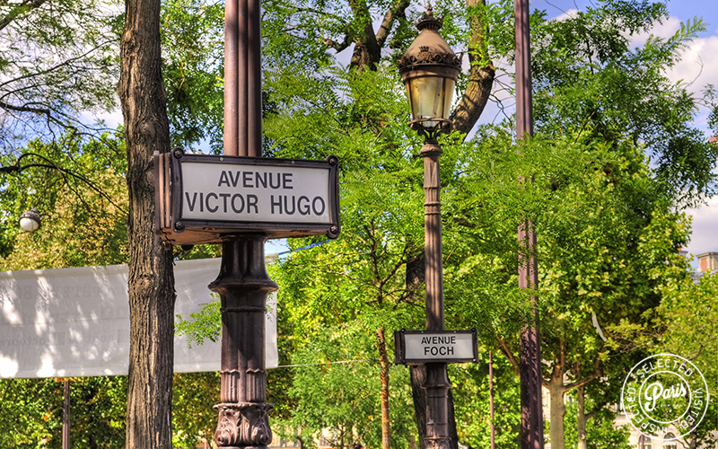 Avenue Victor Hugo and Avenue Foch