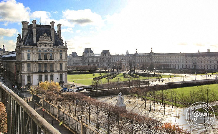 View from Tuileries Garden, apartment for rent in Paris, Opera-Vendome