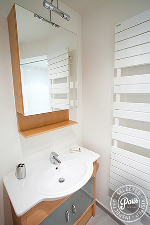 Second bathroom at Marais Elegance, apartment for rent in Paris, Marais