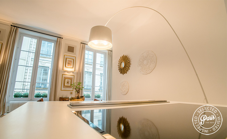 Bright dining area at St Germain Grenelle, Paris vacation rental, Saint Germain