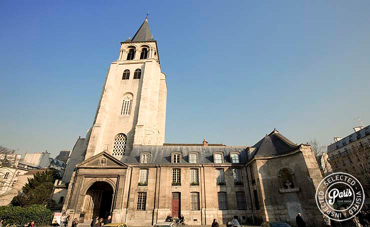 Saint Sulpice church close to Four, Paris apartment rental, Saint Germain