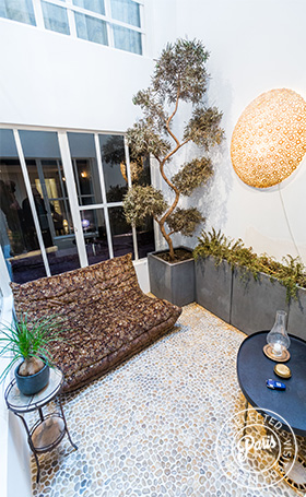 Atrium at Latin Quarter Loft, Paris apartment rental, Latin Quarter