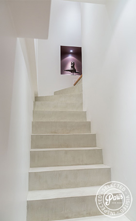 Inner stairs at Latin Quarter Loft, Paris apartment rental, Latin Quarter