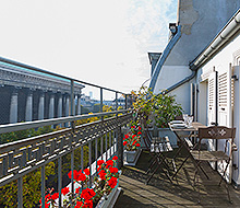 Madeleine Terrace - Paris For Rent
